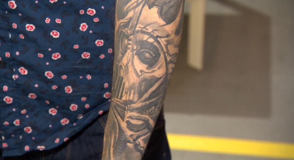 Mateusz Borkowski Pokazał Swoje Tatuaże Oficjalna Strona