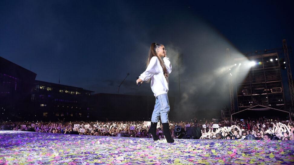 Ariana Grande zostanie honorową obywatelką Manchesteru