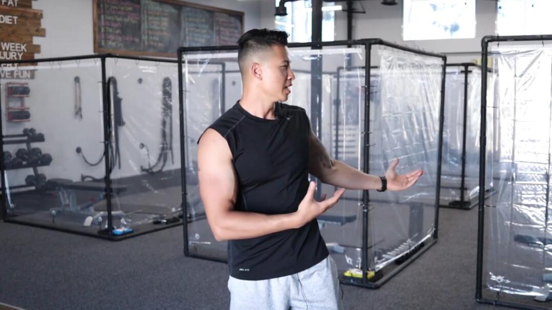 Ponowne otwarcie siłowni w Kalifornii. Klienci mają teraz ćwiczyć w boxach