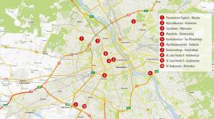 Niebezpieczne skrzyżowania w Warszawie. Policja podsumowuje