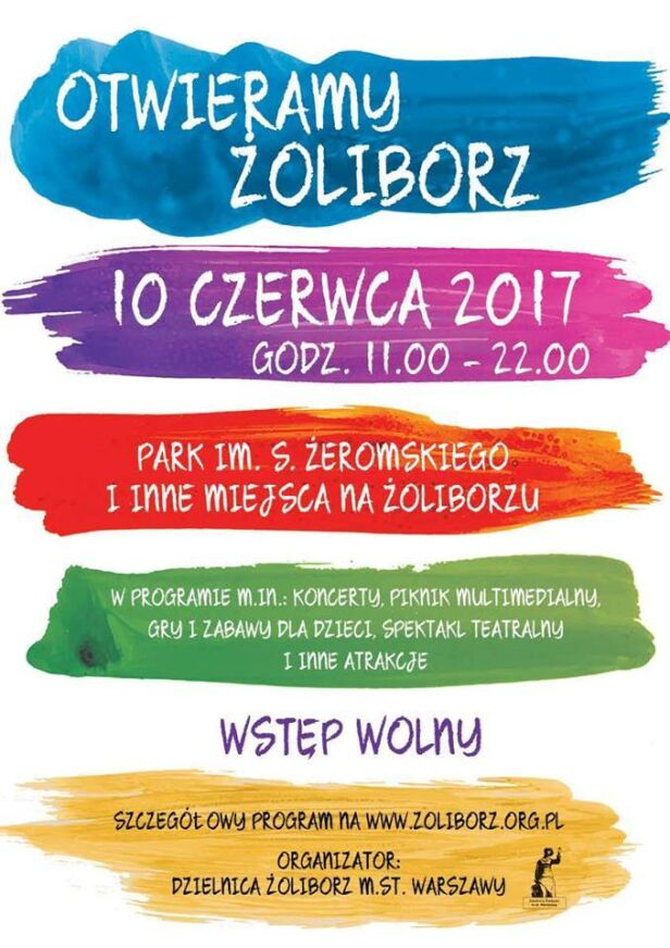 Impreza na Żoliborzu urząd dzielnicy