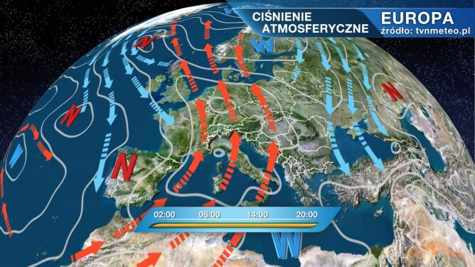 Pogodą w Polsce rządzi wyż Yvonne