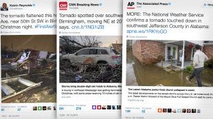 Na południu USA pogoda szaleje. Alabama nękana przez tornada i powodzie