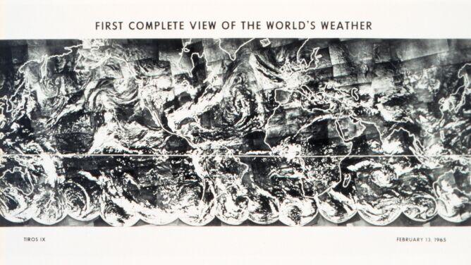 55 lat temu i dziś. Pogoda na świecie okiem satelity