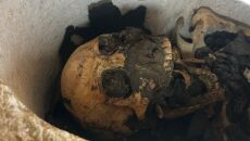 Drugia mumia odkryta podczas przeszukiwania egipskiej nekropolii