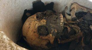 Znaleziska ze starożytnych grobowców